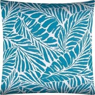 Joita MALKIN Teal Indoor/Outdoor Pillow - Sewn Closure