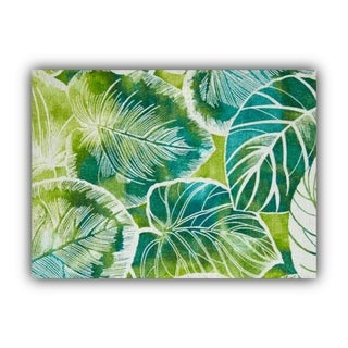 Joita CALOPIA teal Indoor/Outdoor Placemat - Finished Edge