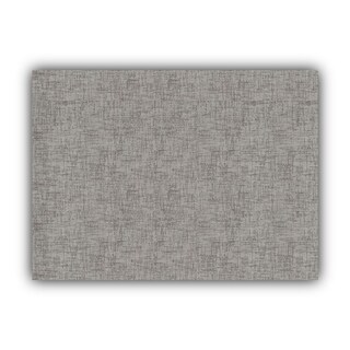 Joita WEAVE Gray Indoor/Outdoor Placemat - Finished Edge