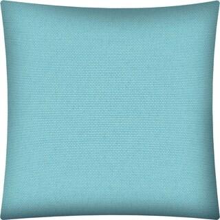 Joita CORINA Light Turquoise Indoor/Outdoor - Zippered Pillow Cover