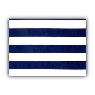 Joita CABANA SMALL Navy Indoor/Outdoor Placemat - Finished Edge