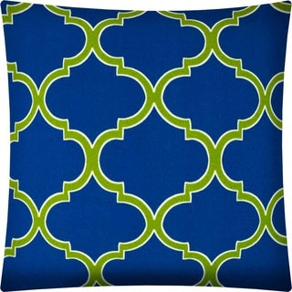 Joita IRONDICIA Blue Indoor/Outdoor - Zippered Pillow Cover