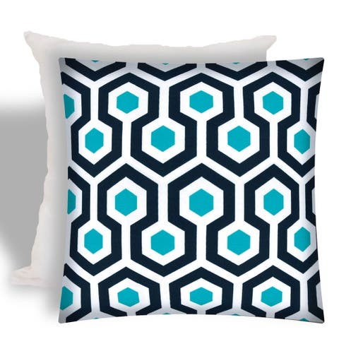 Joita WIRED Indoor/Outdoor - Zippered Pillow Cover with Insert