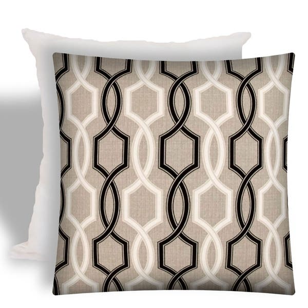 Joita Deco Indoor Outdoor Zippered Pillow Cover With Insert Image Gallery
