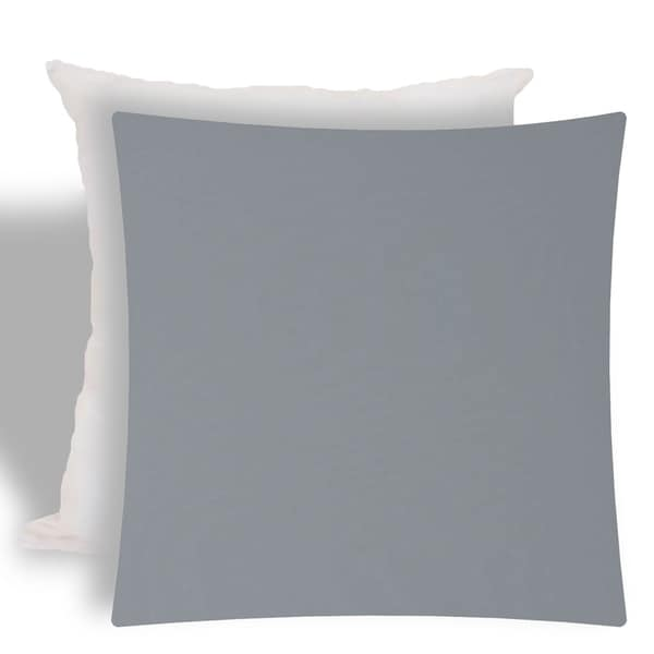 Shop Joita Corina Gray Indoor Outdoor Zippered Pillow Cover With