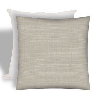Joita FORMA Natural Indoor/Outdoor - Zippered Pillow Cover with Insert