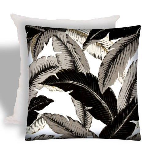 Joita PALMORINA Indoor/Outdoor - Zippered Pillow Cover with Insert