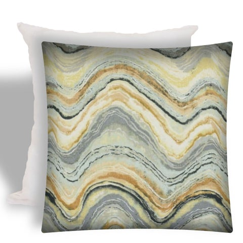 Joita AGATE Indoor/Outdoor - Zippered Pillow Cover with Insert