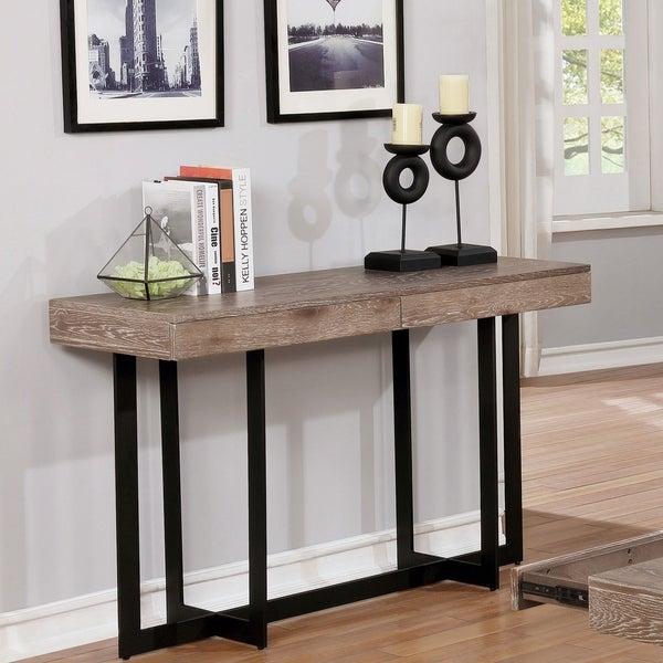 Carbon Loft Levant Cross Base Sofa Table