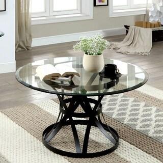 Furniture of America Augusta Metal Coffee Table