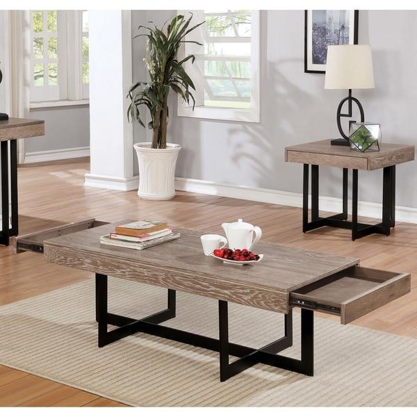 Carbon Loft Levant Cross Base Coffee Table