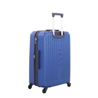 """IZod Dockside 20 Inch Blue Hardside Spinner Suitcase - 20"""""""