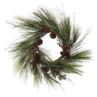 Forever Tree Sugar Pine Wreath w Hemlock