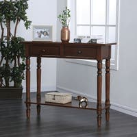 Jennings Traditional Entryway Console Table by FOA