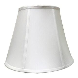 Royal Designs Deep Empire Essential Lamp Shade - White - 9 x 16 x 12.25