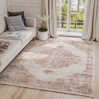 Babylon Vintage Rectangle Indoor Abstract Rug