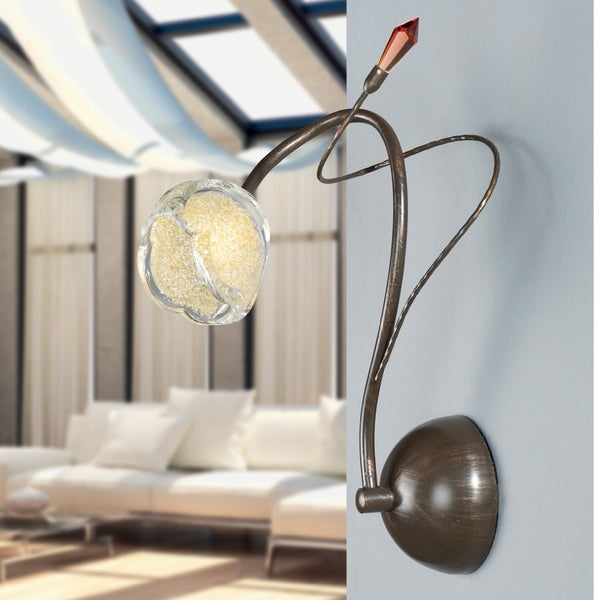 Nature inspired lighting Modern Contemporary Shop Montalvo Utah Halogen Wall Sconce In Bronze Free Shipping On Orders Over 45 Overstockcom 23137700 Overstock Shop Montalvo Utah Halogen Wall Sconce In Bronze Free Shipping On