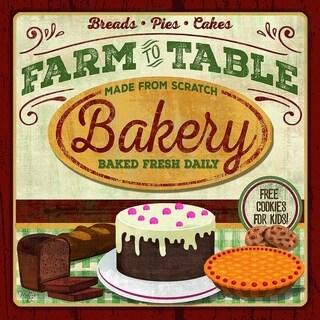 Decorative Wall Sign- Farm to Table Bakery