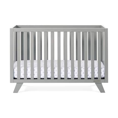 Forever Eclectic SOHO 4-in-1 Convertible Crib, Cool Gray