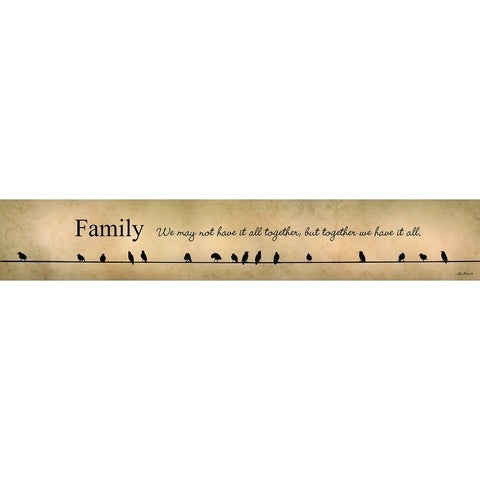 Decorative Wall Sign- Family-Together We Have it All