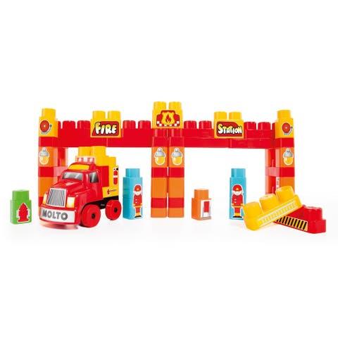 Molto 125-Piece Truck Block Set