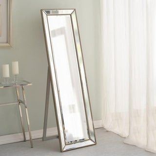 Lyla 64-inch Champagne Stand Mirror