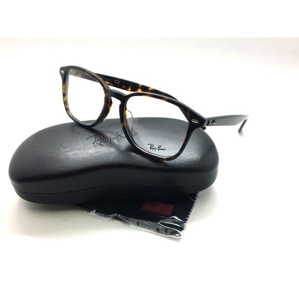 59596a0d6 Shop Ray Ban Havana Tortoise Plastic eyeglasses Frame RB 5352 F 2012 54MM demo  lenses - Free Shipping Today - Overstock - 23137974