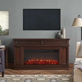 Real Flame Torrey Electric Dark Walnut Fireplace
