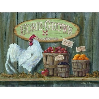 Decorative Wall Sign- Homegrown Goodness
