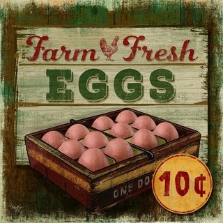 Decorative Wall Sign - Farm Fresh Eggs