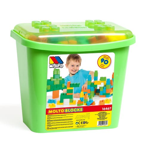 Molto 90-Piece Green Blocks Box