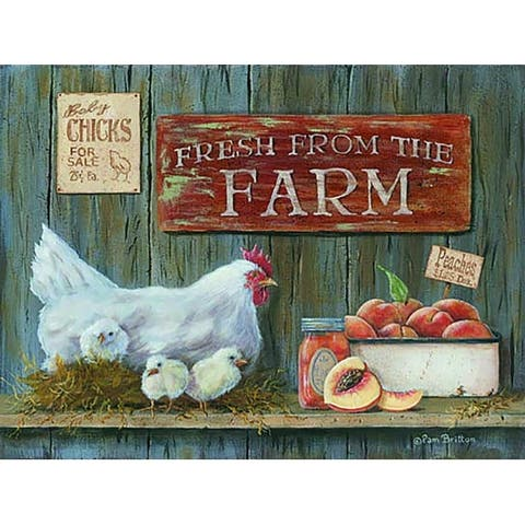 Decorative Wall Sign- Fresh from the Farm