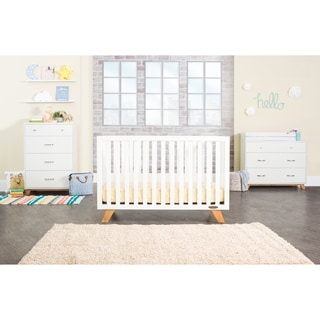 Link to Forever Eclectic SOHO 4-in-1 Convertible Crib, White/Natural Similar Items in Kids' & Toddler Furniture