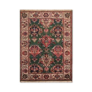 "Arts & Crafts Romanian Hand-Knotted Persian Oriental Area Rug (5'11""x9') - 5'11""x9'"