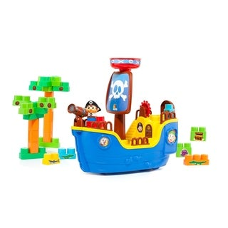 Molto 30-Piece Pirate Ship Block Set