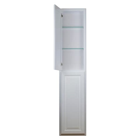 "54"" Recessed Baldwin Pantry Storage Cabinet 3.5""d"