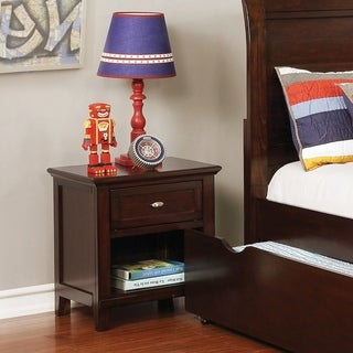 Furniture of America Connor 1-Drawer Nightstand