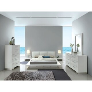 Furniture of America Phoenix Low Profile USB Nightstand