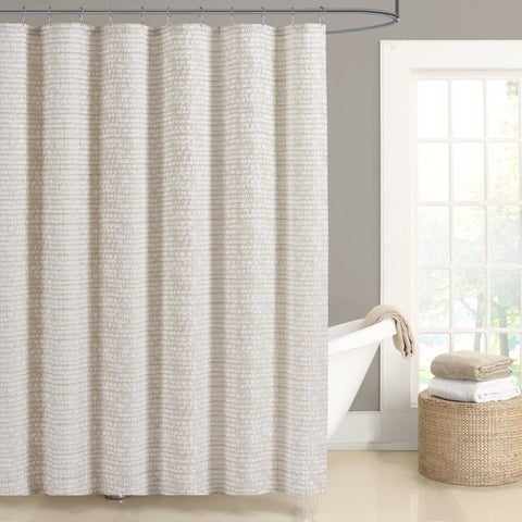 Five Queens Court Lance Woven Jacquard Shower Curtain