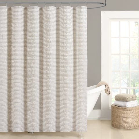 Five Queens Court Lance Woven Jacquard Shower Curtain