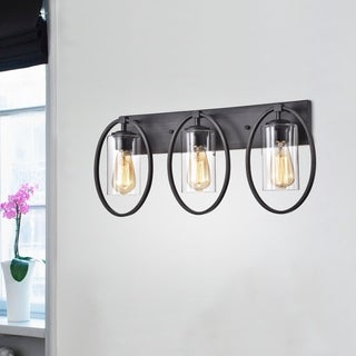 Anastasia 3-Light Wall Sconce with Clear Glass Shade