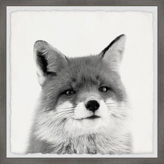 Link to Marmont Hill - Handmade Handsome Fox Framed Print Similar Items in Art Prints
