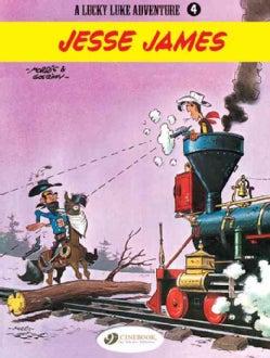 A Lucky Luke Adventure 4: Jesse James (Paperback)