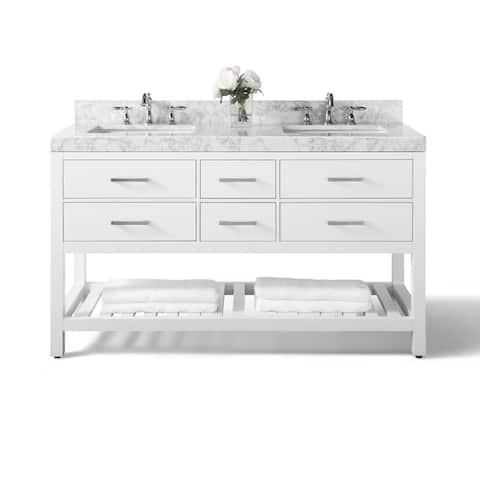 . Buy White Bathroom Vanities   Vanity Cabinets Online at Overstock