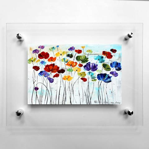 Lillies Acrylic Wall Art