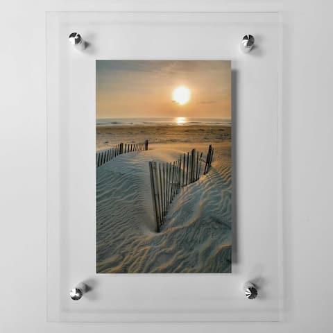 Sunrise Over Hatteras Acrylic Wall Art