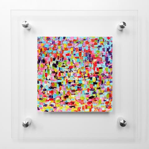 A Touch Of ColorAcrylic Wall Art