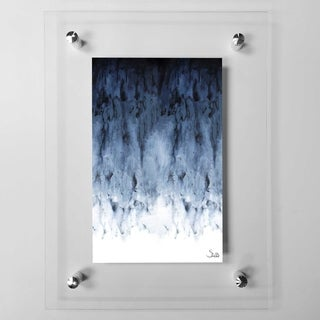 Black Watery Acrylic Wall Art