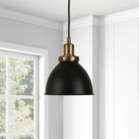 Madison Pendant in Blackened Bronze