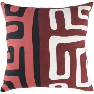 Decorative Avenue Red 18-inch Pillow Cover